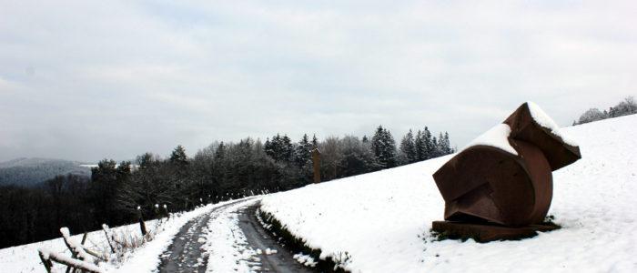 Bild: Der Skulpturenwanderweg